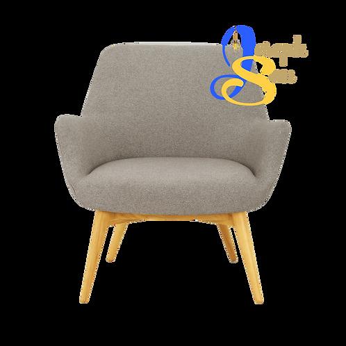 BERLINGO Lounge Chair Dolphin Baize