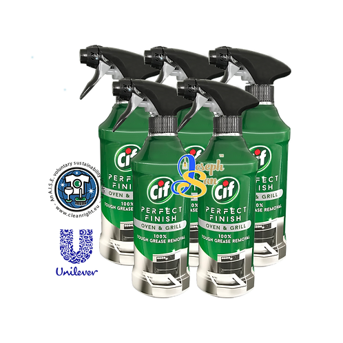 Cif Perfect Finish Oven & Grill Spray [5 Bottles]