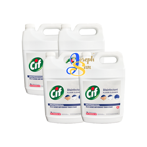 Cif Professional Disinfectant Floor Cleaner [4 Bottles]