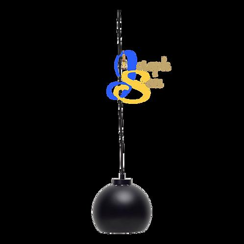 SLUG Matt Black Pendant Lamp