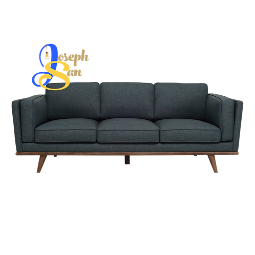 CIVIC 3 Seater Sofa Space Blue