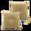 Thumbnail: DISTINTIVO 400x400 Square Small Cushion Bee Yellow