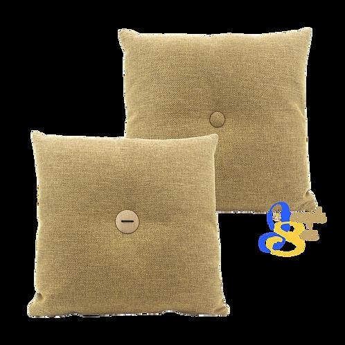 DISTINTIVO 400x400 Square Small Cushion Bee Yellow