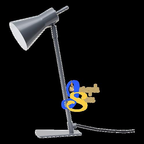 WEEVIL Matt Grey Table Lamp