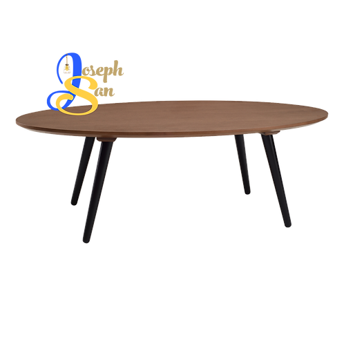CARSYN Oval Coffee Table Cocoa