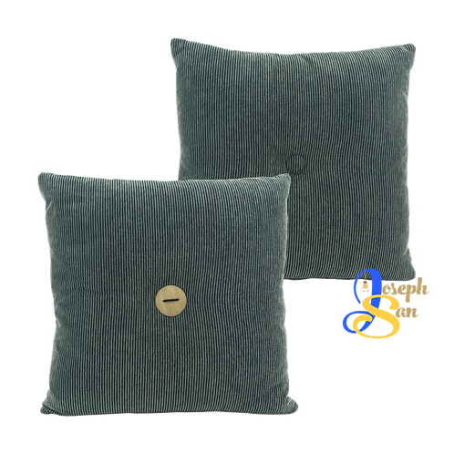 DISTINTIVO 400x400 Square Small Cushion Liquorice