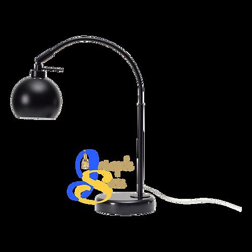SLUG Matt Black Table Lamp H437