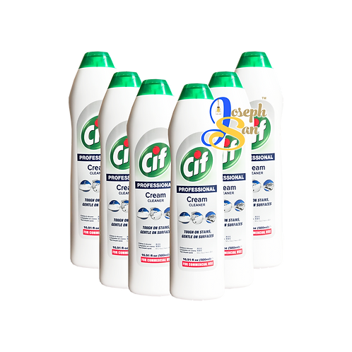 Cif Professional Cream Cleaner [6 Bottles]