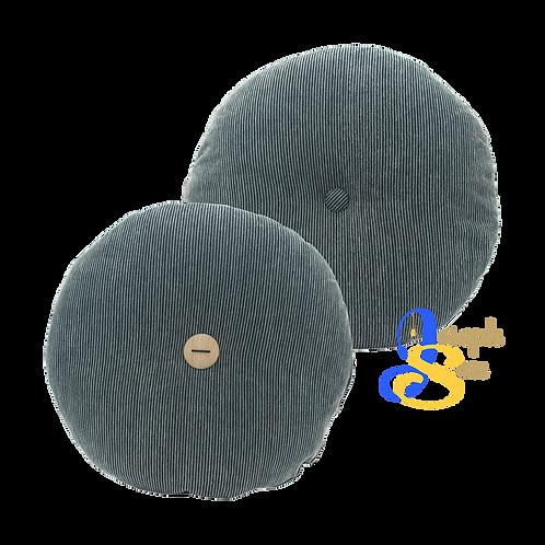 DISTINTIVO ø450 Round Small Cushion Liquorice