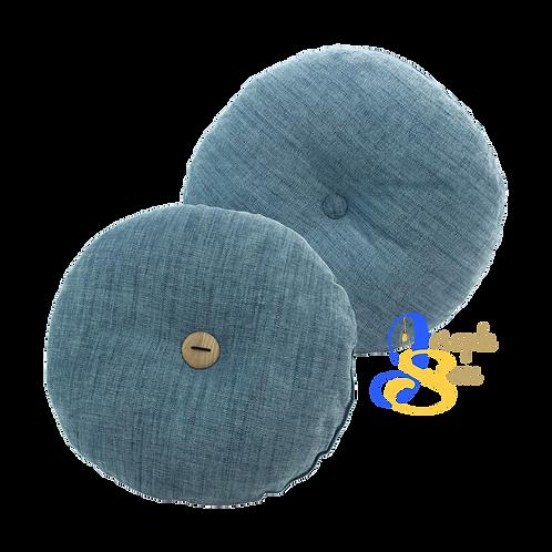 DISTINTIVO ø450 Round Small Cushion Blue Grey