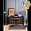 Thumbnail: SLUG Matt Black Table Lamp H437