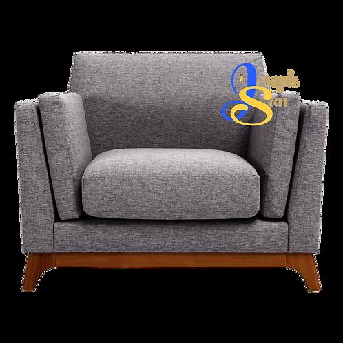 CENI 1 Seater Sofa Pebble