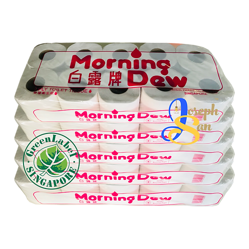 Morning Dew Tissue Rolls [5-Pack]