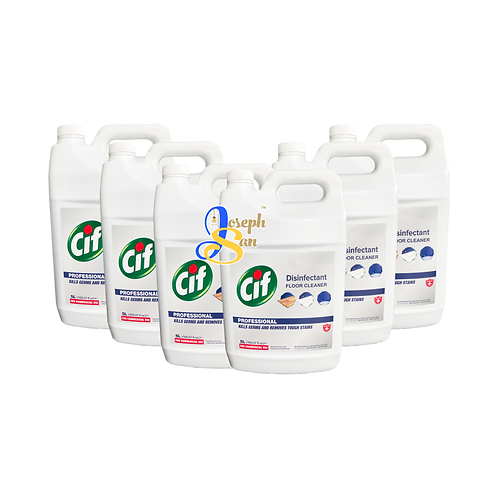 Cif Professional Disinfectant Floor Cleaner [6 Bottles]
