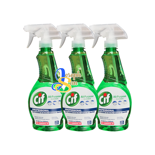 Cif Professional All-Purpose Cleaner [3 Bottles]
