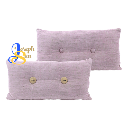 DISTINTIVO 300x600 Rectangular Small Cushion Misty Rose