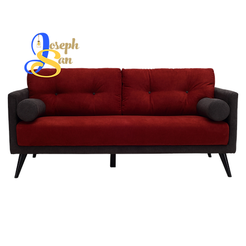 LANCER 2 Seater Sofa Crimson
