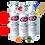 Thumbnail: Lifebuoy Hand Sanitizer Total 10 [3-Pack]