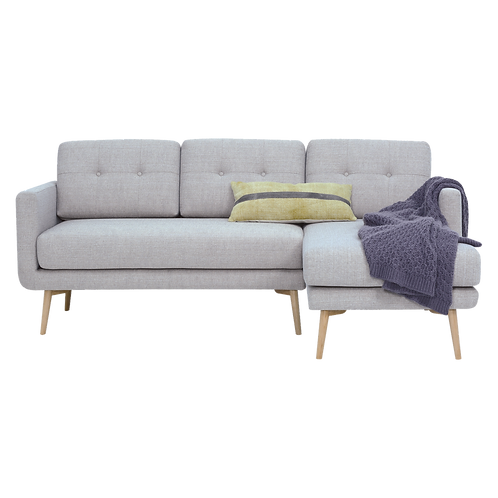 STREAM 3 Seater Sofa With Left Chaise Timberwolf