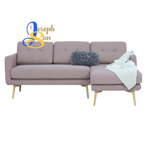 STREAM 3 Seater Sofa With Left Chaise Brown