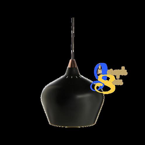 LARK ø320 Matt Black Pendant Lamp