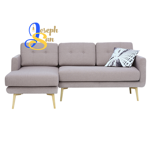 STREAM 3 Seater Sofa With Right Chaise Brown