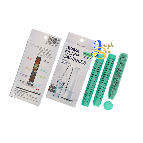 MODEL 800 Ionized Magnesium Hydrogen Water Filter Refill Capsules