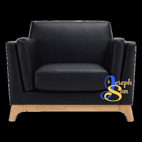 CENI 1 Seater Sofa Expresso