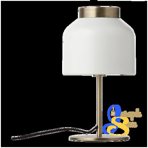 BEAVER Matt White Table Lamp