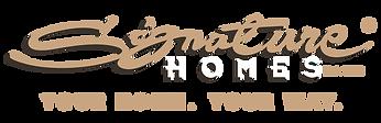 Signature Homes Ormiston Subdivision logo