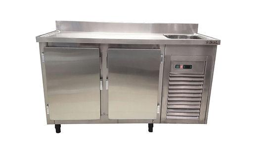 Balcão frigorífico em aço inox sob medida