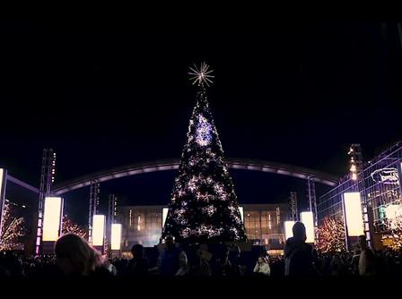 The tree at the Star at Frisco