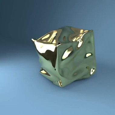 Gold Cloth Cube.mp4