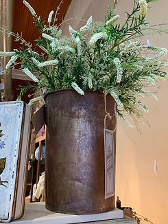rulene white flowers in metal bucket.jpg