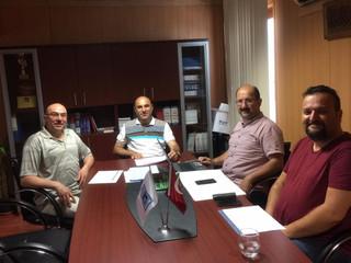 Ağustos ayı yönetim kurulu toplantısını gerçekleştirdik.