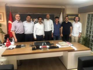 Müsiad Kastamonu Şube Başkanı Sn. Mustafa Şensoy'u makamında ziyaret ettik.
