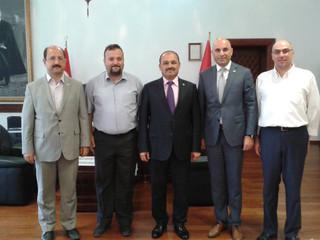 Kastamonu Üniversitesi Rektörümüz Prof. Dr. Seyit AYDIN' ı makamında ziyaret ettik.