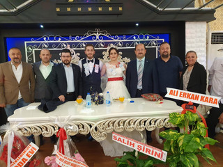 Oda Personelimiz Bahar KILIÇ (YILMAZ)' ın Düğününe Katıldık 20.09.2019