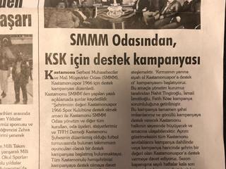 Şehrimizin değeri Kastamonuspor 1966 Klübüne destek olmak amacı ile Kastamonu SMMM Odası yönetim ve