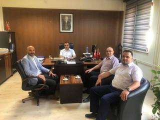 Kastamonu Vergi Dairesi Müdürümüz Sn. Murat Saydam'ı makamında ziyaret ettik.