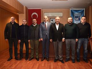 Kastamonu Belediye Başkanı Sayın Tahsin BABAŞ Odamıza Ziyarette bulunmuştur. Ziyaretinden dolayı teş