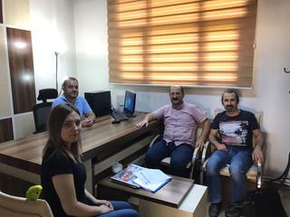 Staj Komisyonumuz Tarafından Stajyerlerimizin Çalışmış olduğu bürolar ziyaret edilerek Denetimi yapı