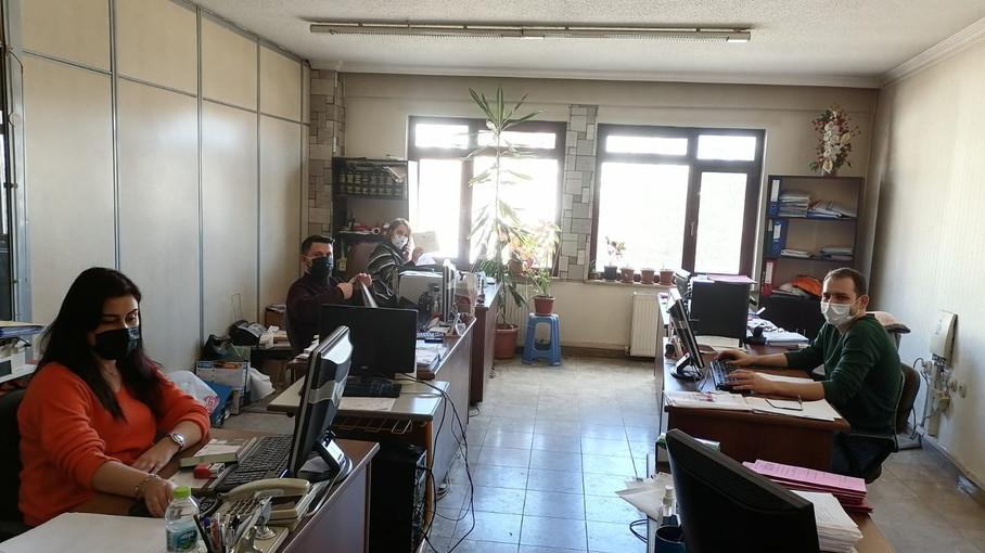 Covid-19 Tedbirleri İçin Mali Müşavirlik Ofislerini Ziyaret Ettik