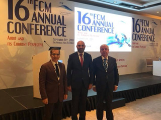 16. FCM Annual conferance Türmob başkanlığında istanbulda toplandı. Toplantıya oda başkamınız Yaşar