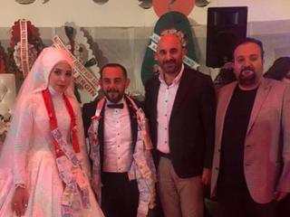 Odamız üyesi Ahmet Yılmaz abimizin oğlu meslek stajyerimiz Serhat Yılmaz kardeşimizin düğün merasimi