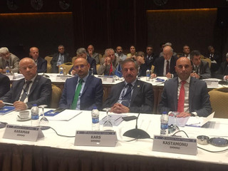 TÜRMOB 79. Başkanlar Toplantısına Katıldık
