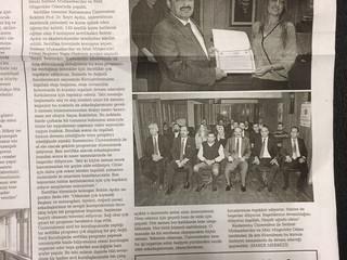 Staja Başlama Kurslarına ait sertifika törenine ilişkin Basında yayımlanan haberler .
