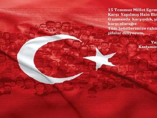 15 Temmuz Demokrasi ve Milli Beraberlik   Günümüz Kutlu Olsun