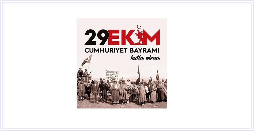 Cumhuriyetimizin ilanının 97. yılında Ulu Önder Gazi Mustafa Kemal Atatürk'ü, aziz şehitlerimizi ve