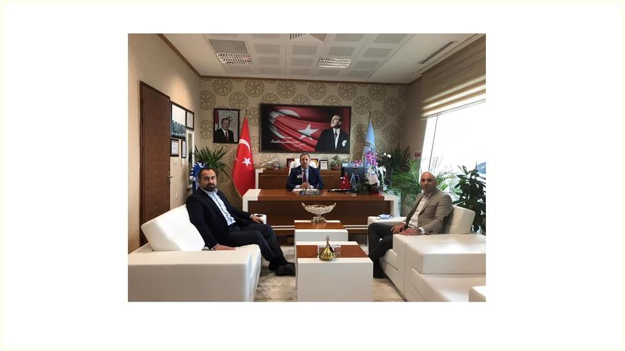 Kastamonu Ticaret ve Sanayi Odası Başkanı Oğuz Fındıkoglu ile Birlikte Kastamonu Havalimanı Müdürü E